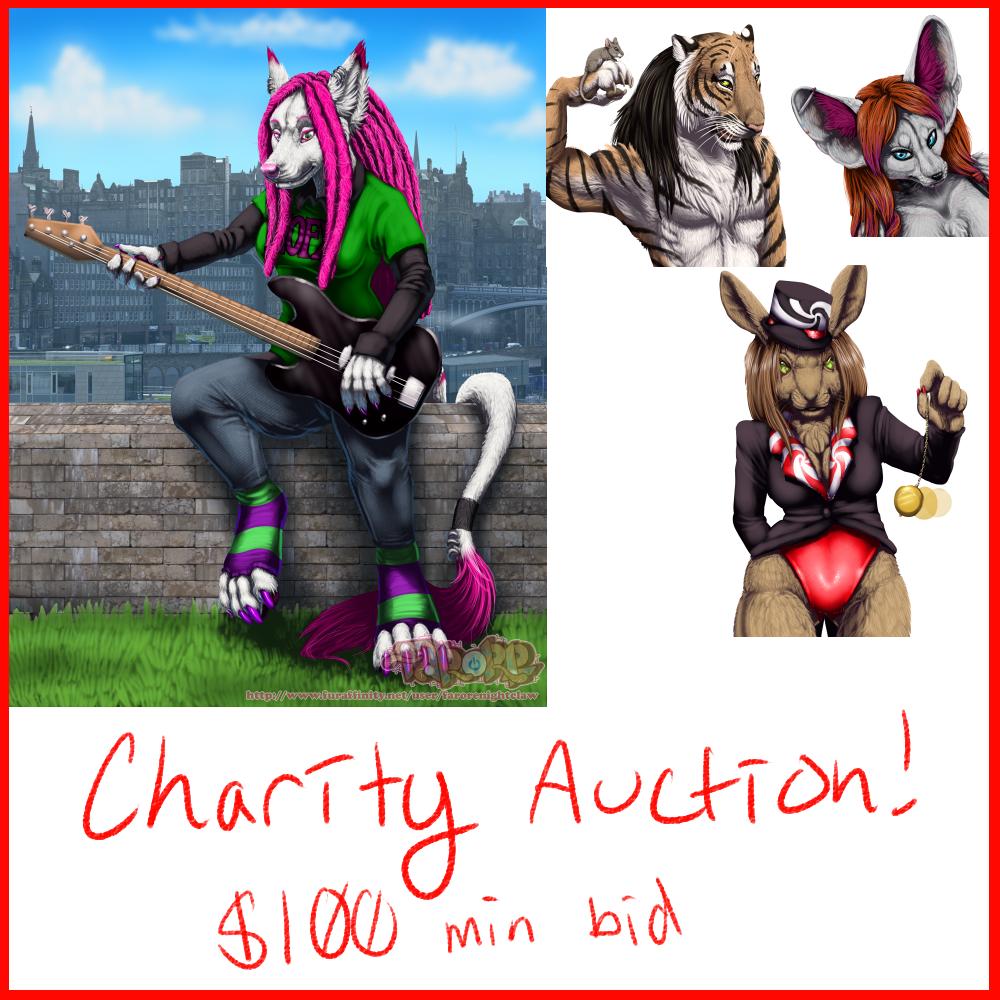 Charity Auction for SpottyJaguar!
