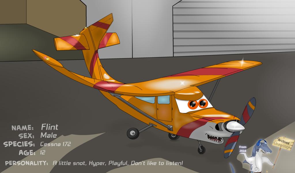The Jam Shark - Flint The Cessna 172 (Archive)
