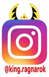 King Ragnarok Instagram Badge