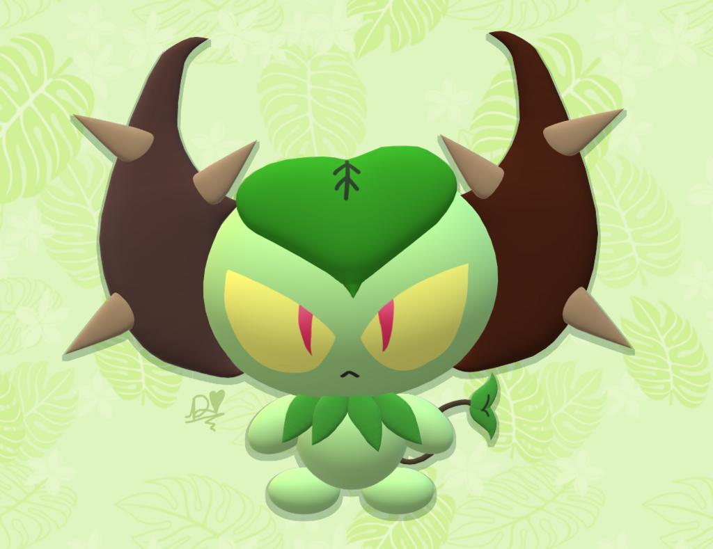 Most recent image: Paint 3D Attempt - Flora