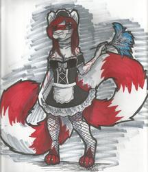Enola as a French Maid