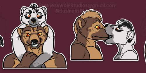 Tax and Ghoula Stickers [1]