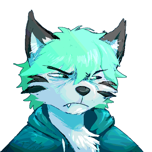 grumpy boi
