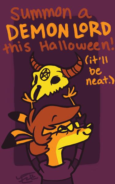 Halloween Cards - Cutesy Sweatervest Jones