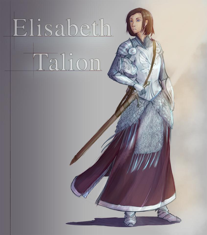 Commission - Elisabeth Talion
