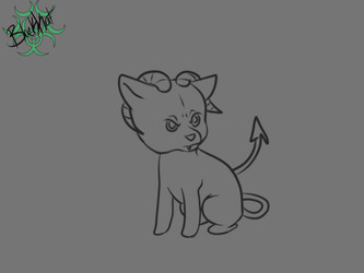 Inktober day 9- Hell hound