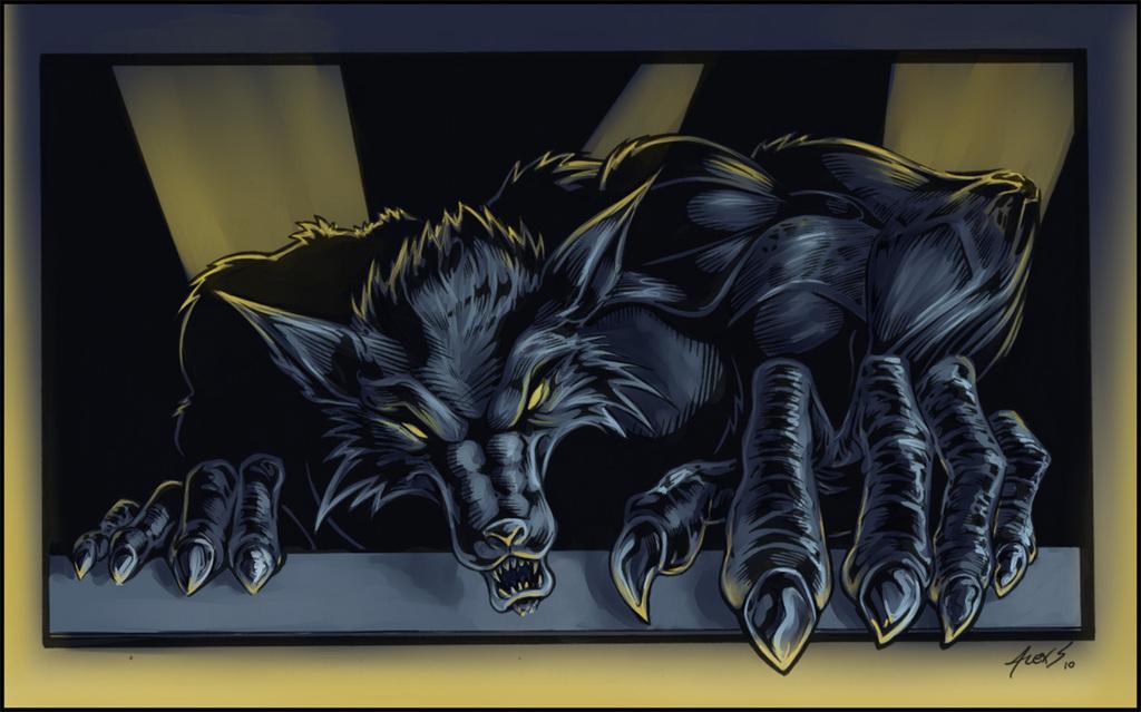 AlexSpastic's Werewolf