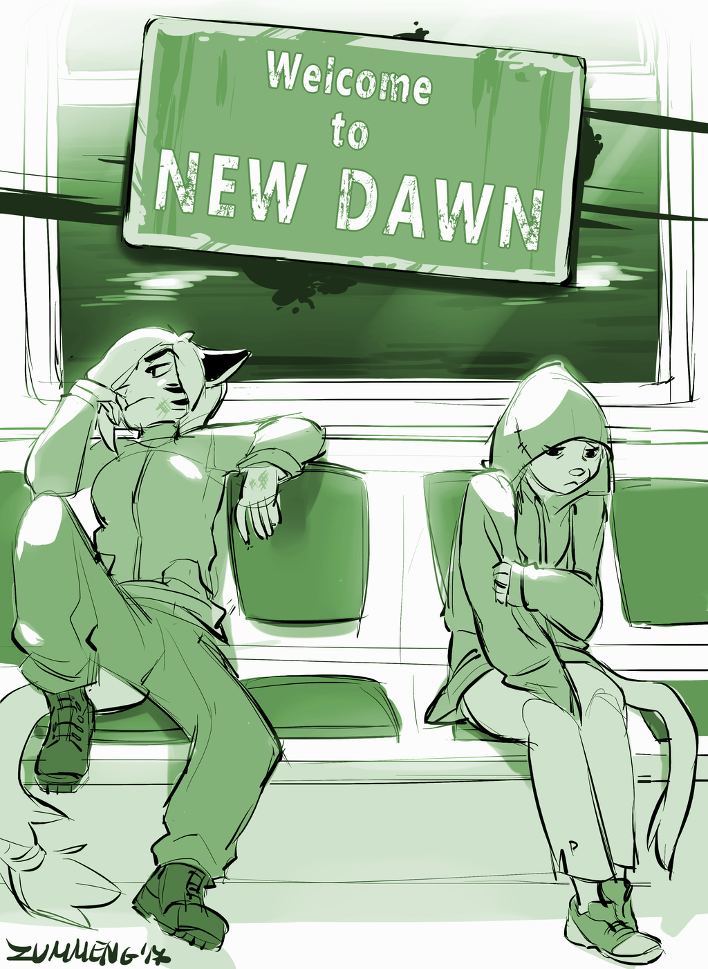 Welcome to New Dawn [WIP Cover]