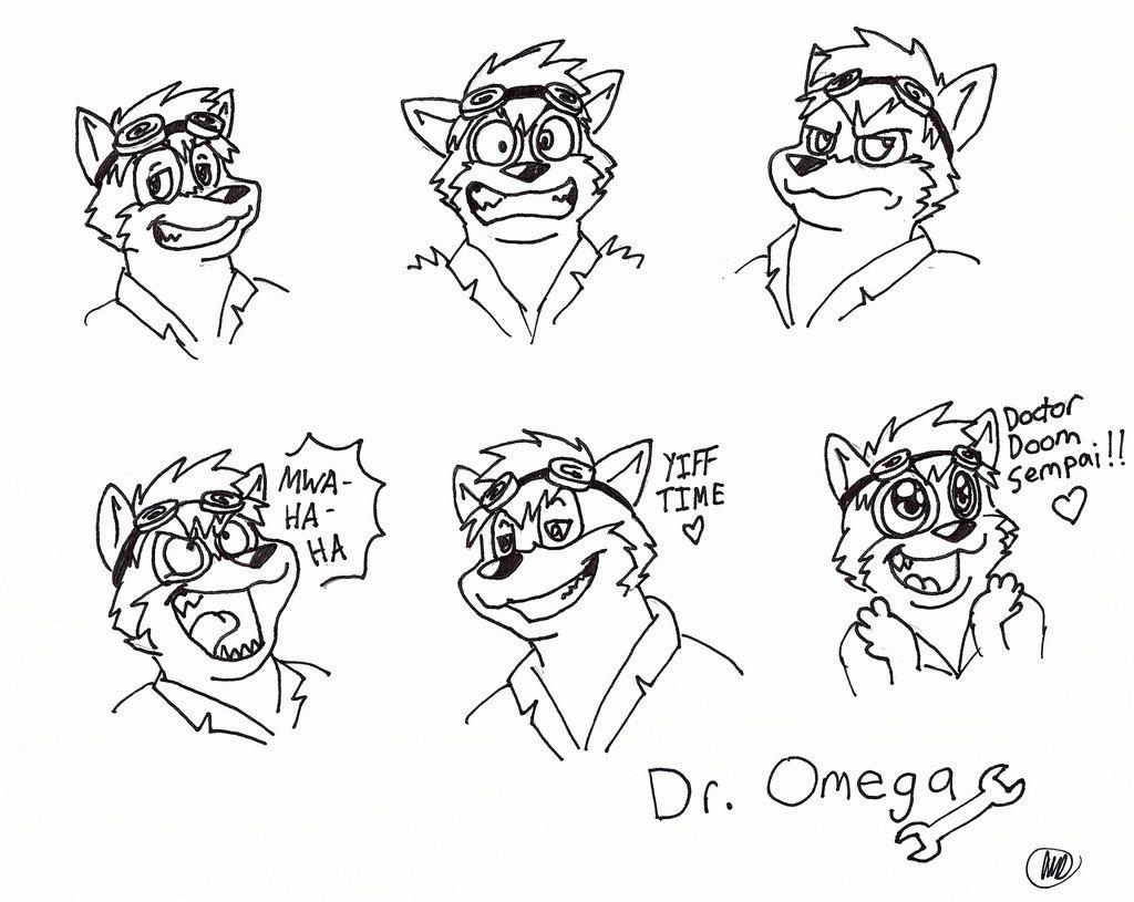 Doctor Omega Expression Sheet