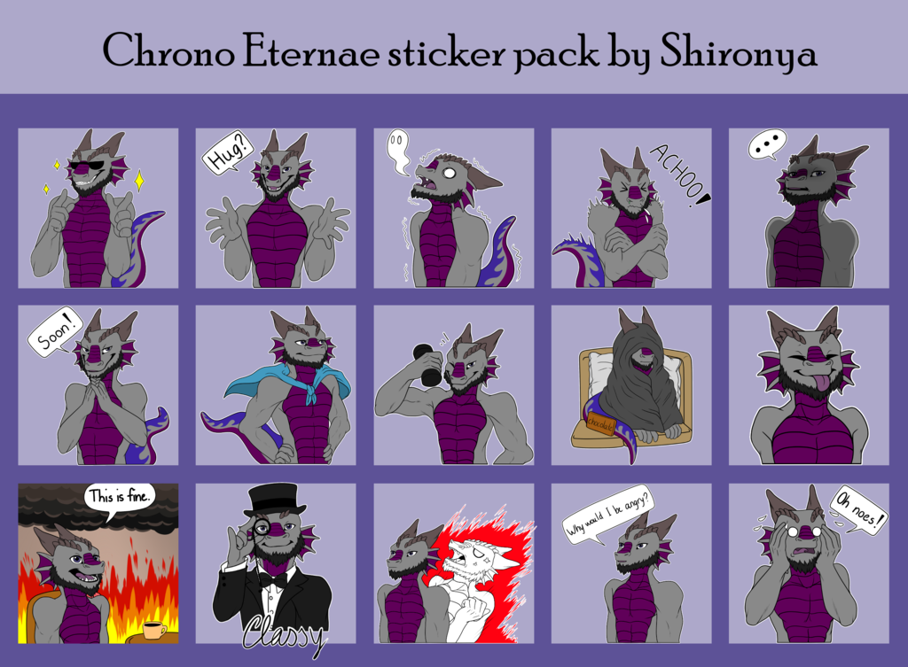 Chrono Eternae Telegram sticker pack