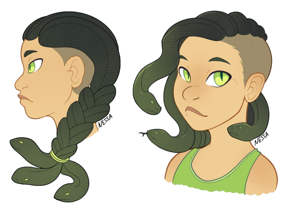 Ryo hairstyles