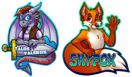 Talos & Skyfox Digital Badges (MCFC 2015)