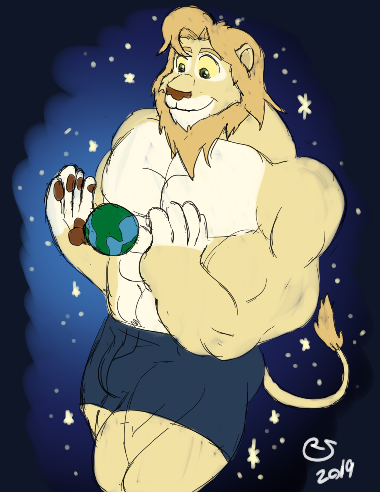 Sketchmission: Lion Protector of Earth