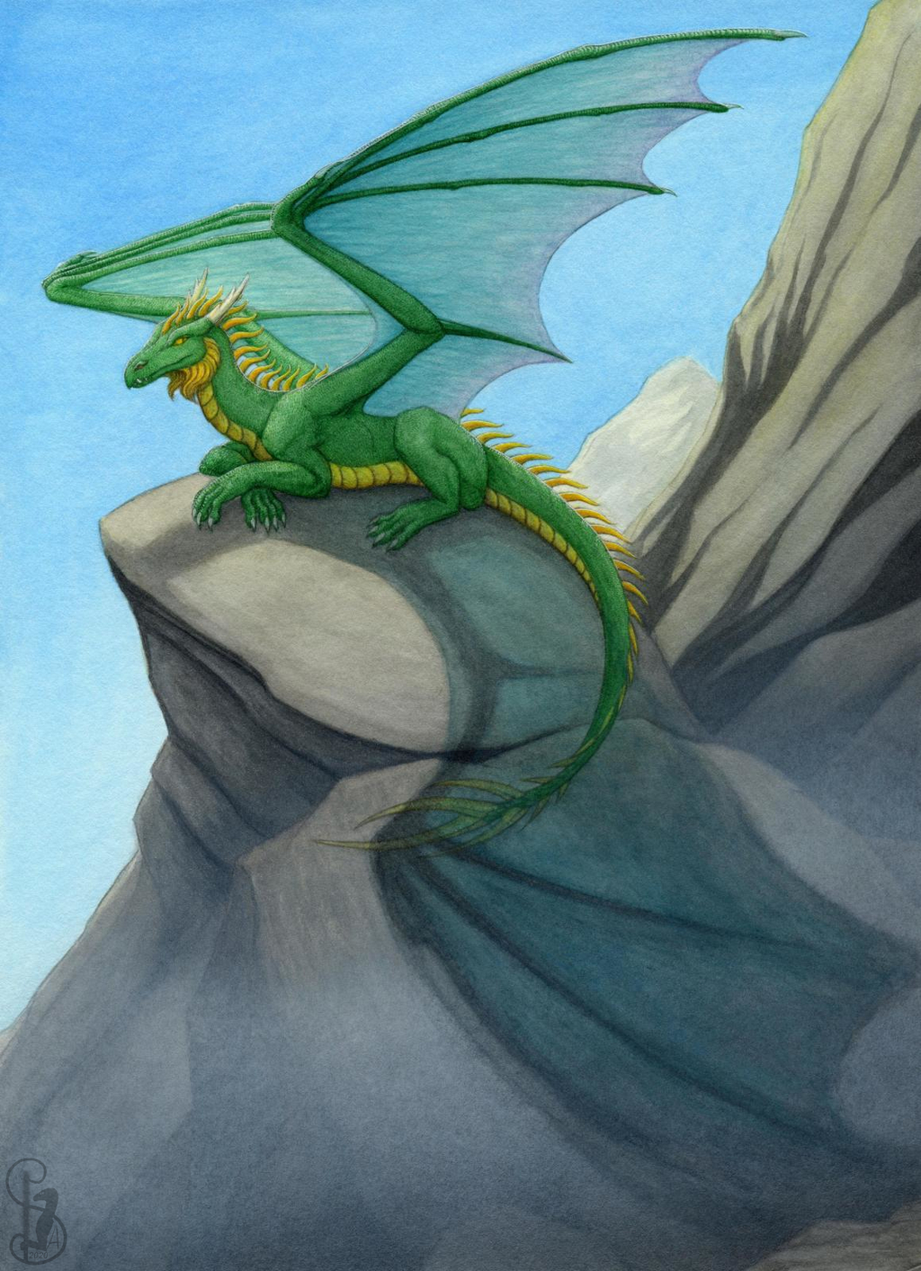 Most recent image: Green dragon