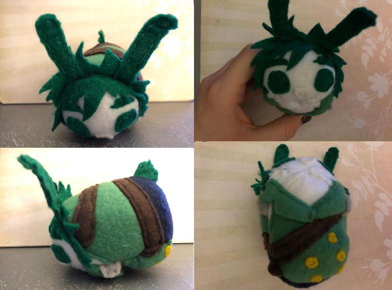 My Hero Academia Bunny Izuku Midoriya Stacking Plush Made For Myself