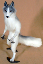 Marble Fox OOAK Doll: For sale