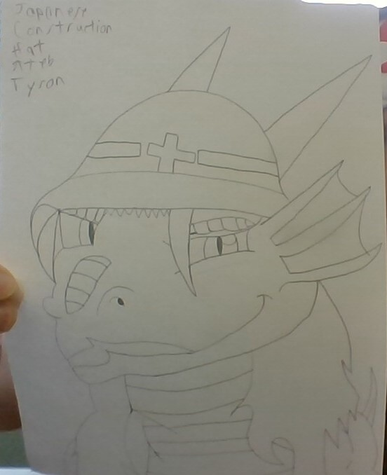 Japanese Construction Hat Ateb Tyson!!