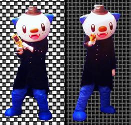 "Mascot Fursuiting: Oshawott Noire, ""Feel'n Lucky, Punk?"""