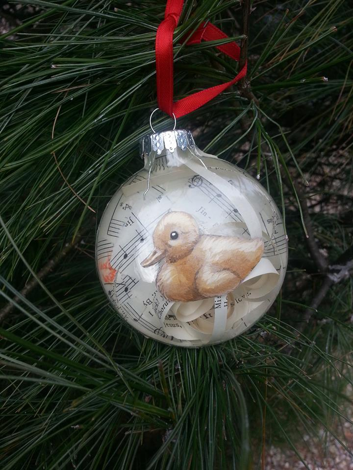 Duckling Ornament!