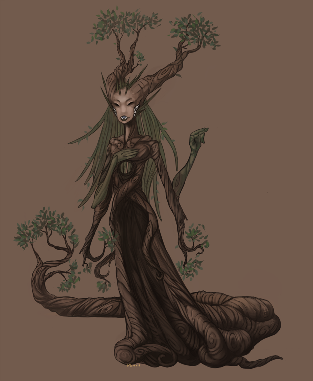 Monster: woggletree