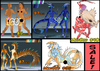 SALE and Last Day Auctions!