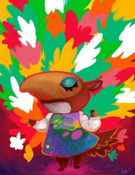 Animal Crossing Collab- Nosegay