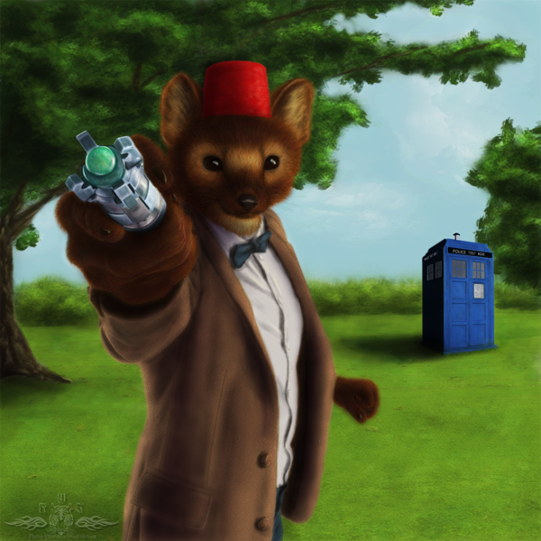 Murphy Slaugh Doctor Who by Flama Ykoriana