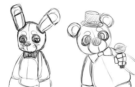 P fnaf bonnie and freddy weasyl for Fnaf coloring pages golden freddy