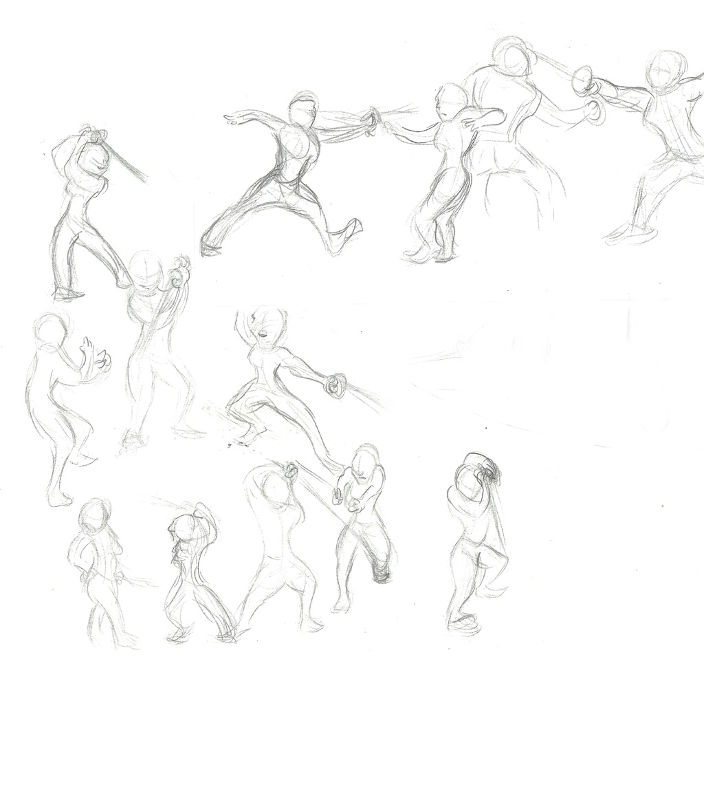 Action Pose Practice