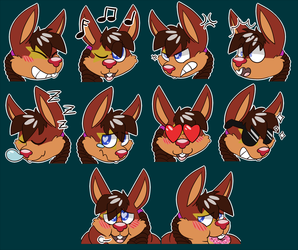 [C] MarcusQuinn Sticker Set