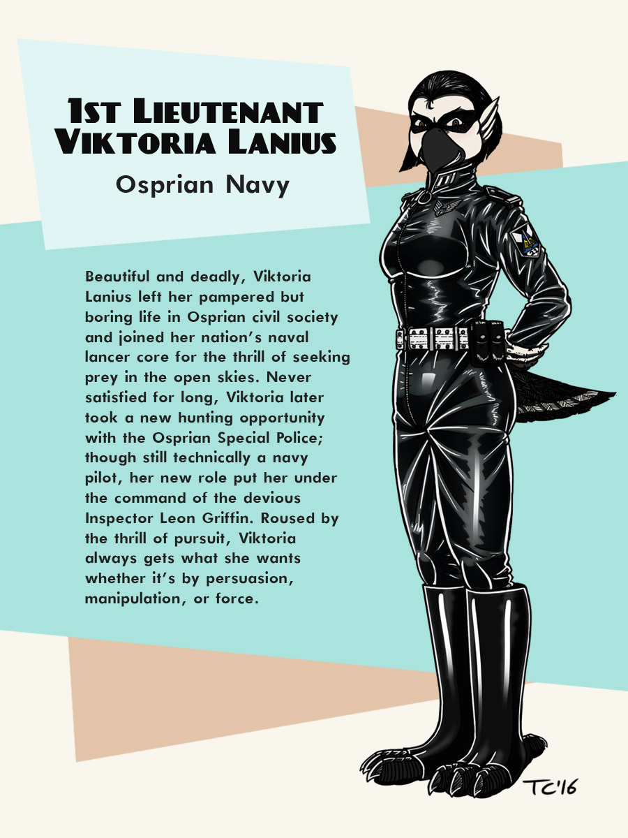 Avania Character Bio - Viktoria