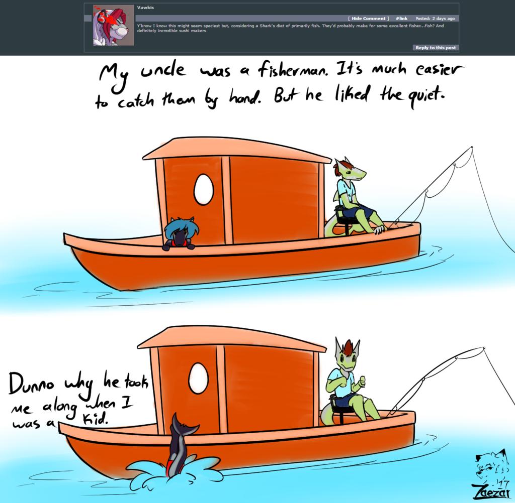 Asks: Fisherman