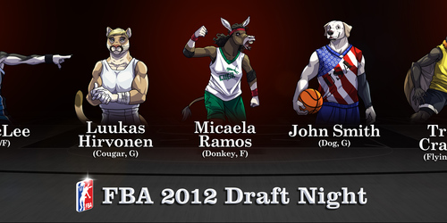 FBA 2012 Draft Night