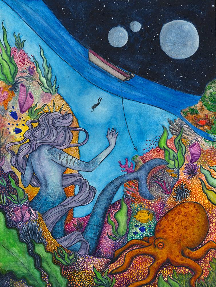 The Shy Mermaid