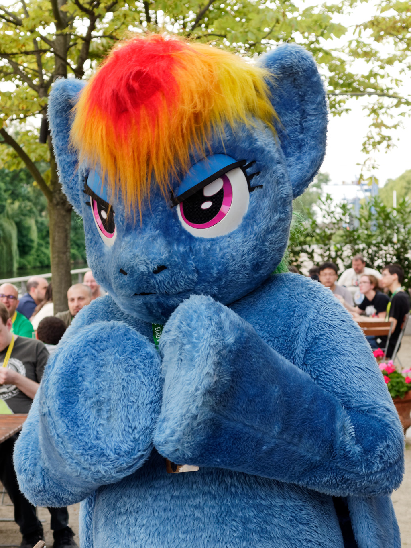 Eurofurence 2017 : Rainbow Dash