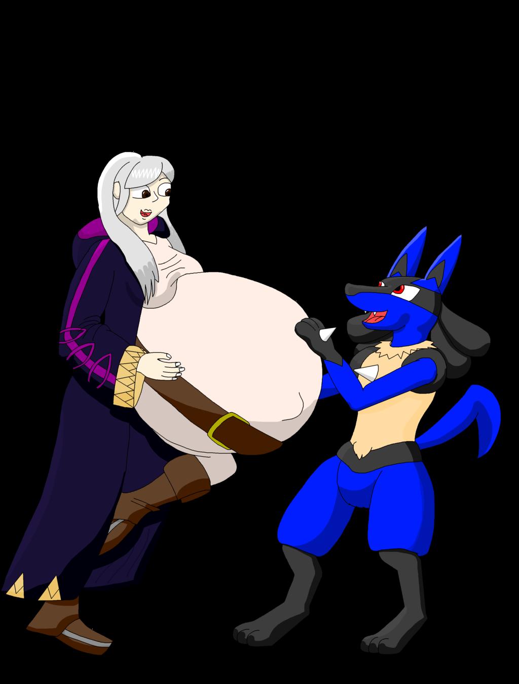 Robin and Lucario