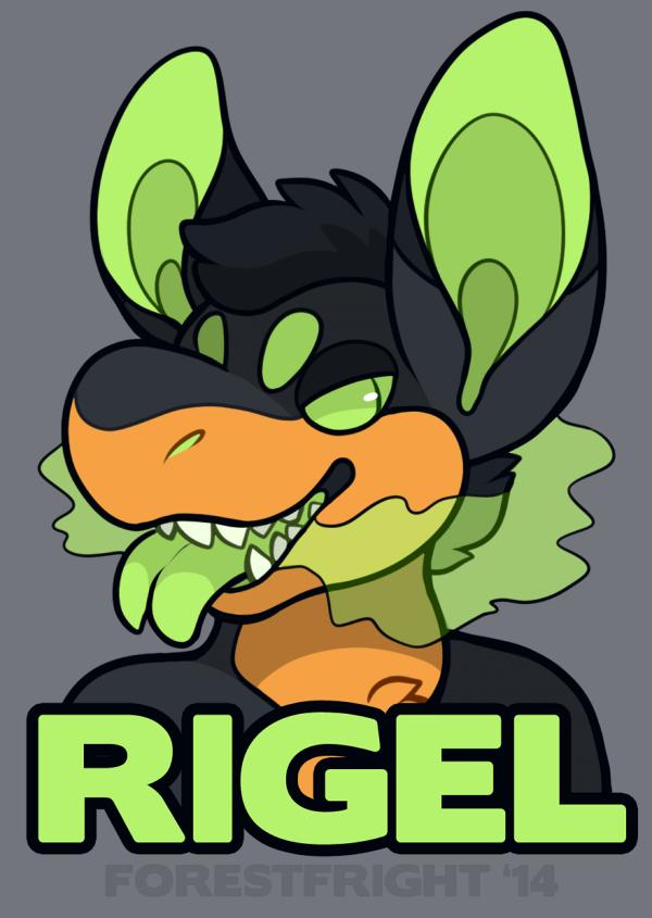 rigel badge