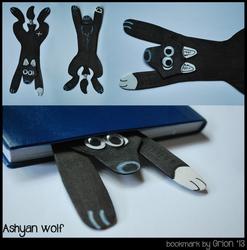 Ashyan wolf bookmark