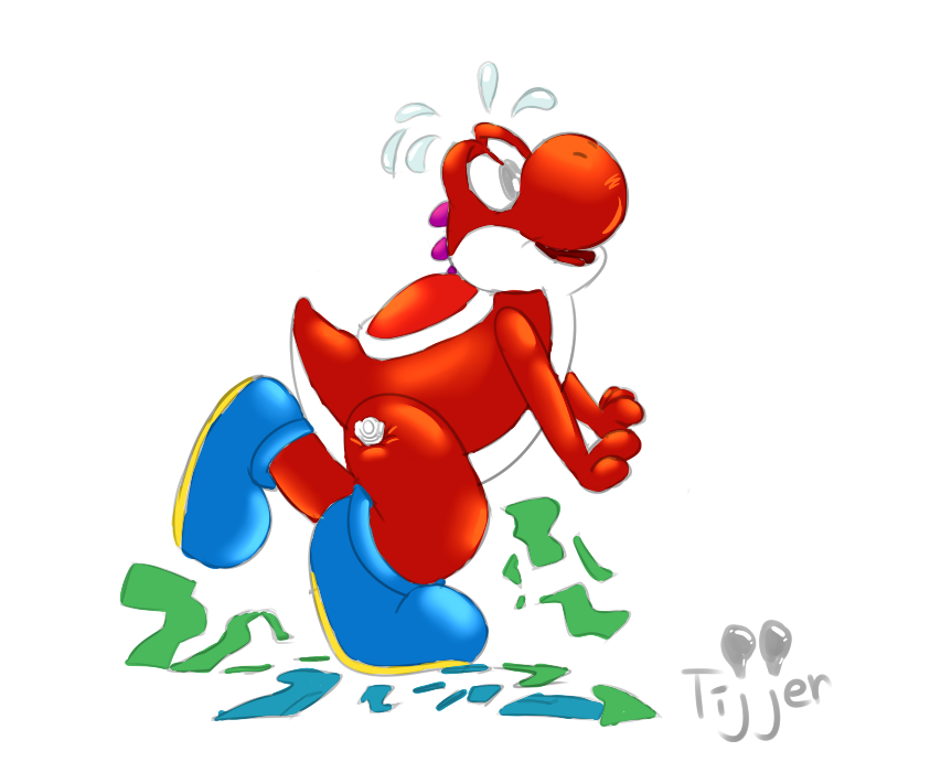 Squeaky Yoshi'd by Tijjer