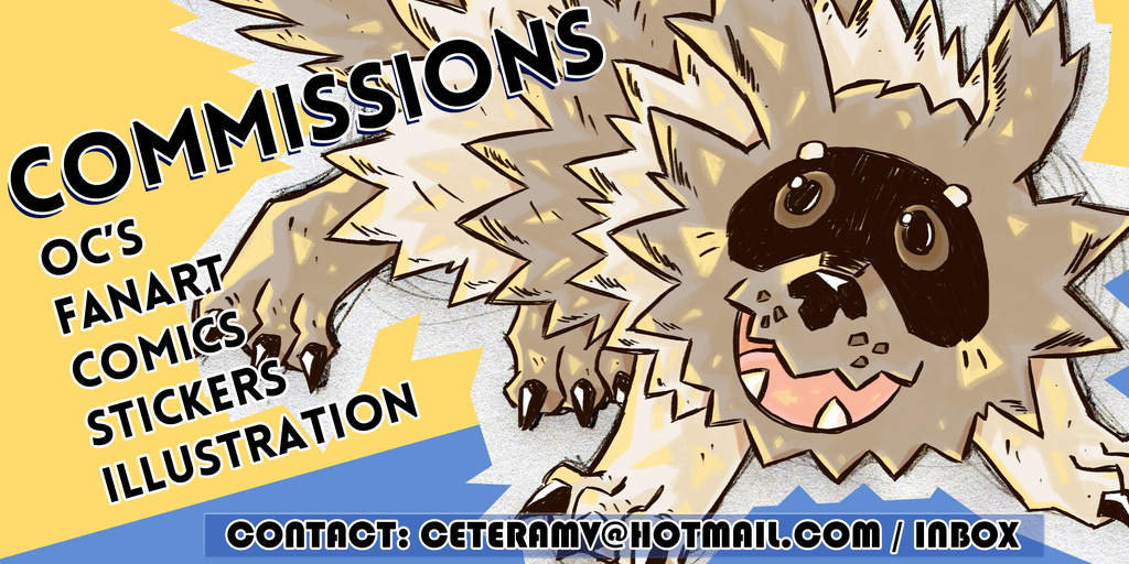 Most recent image: Commissions open