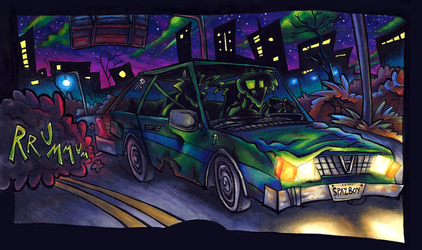 Dempsey's Horrible Car