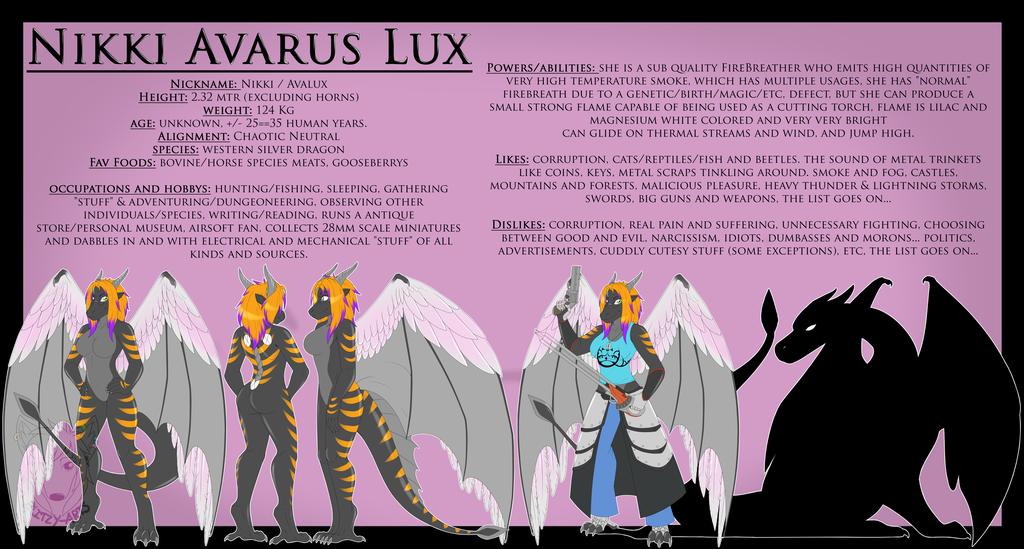 Commission: Nikki Avarus Lux