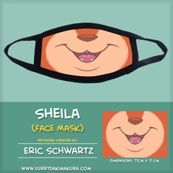 Sheila Vixen Face Mask by EWS