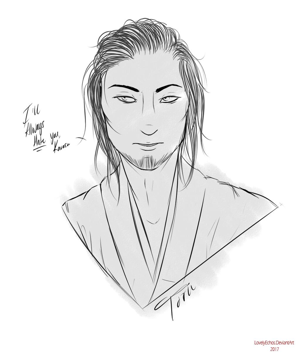 Hateful Toru Sketch