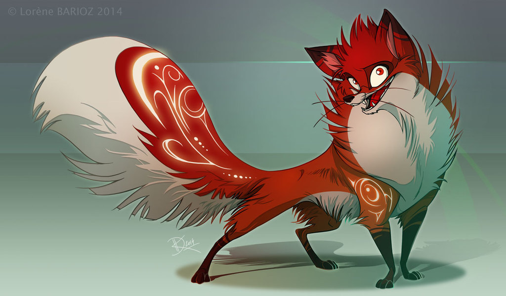 Most recent image: Fluffy fox