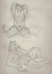 Posing sketches
