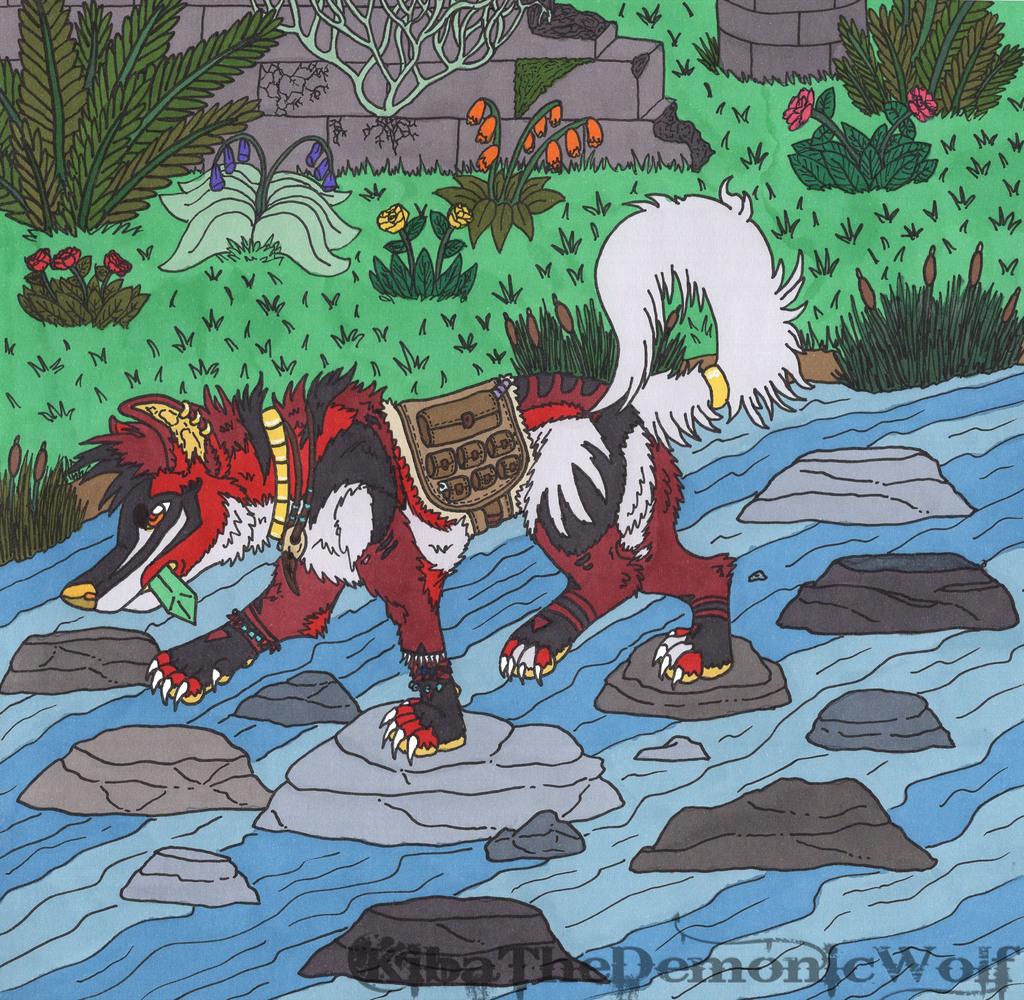 Seven Crossing the River