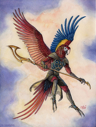 Macaw Warrioress