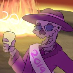 HAPPY NEW YEARS, YA JERKS!