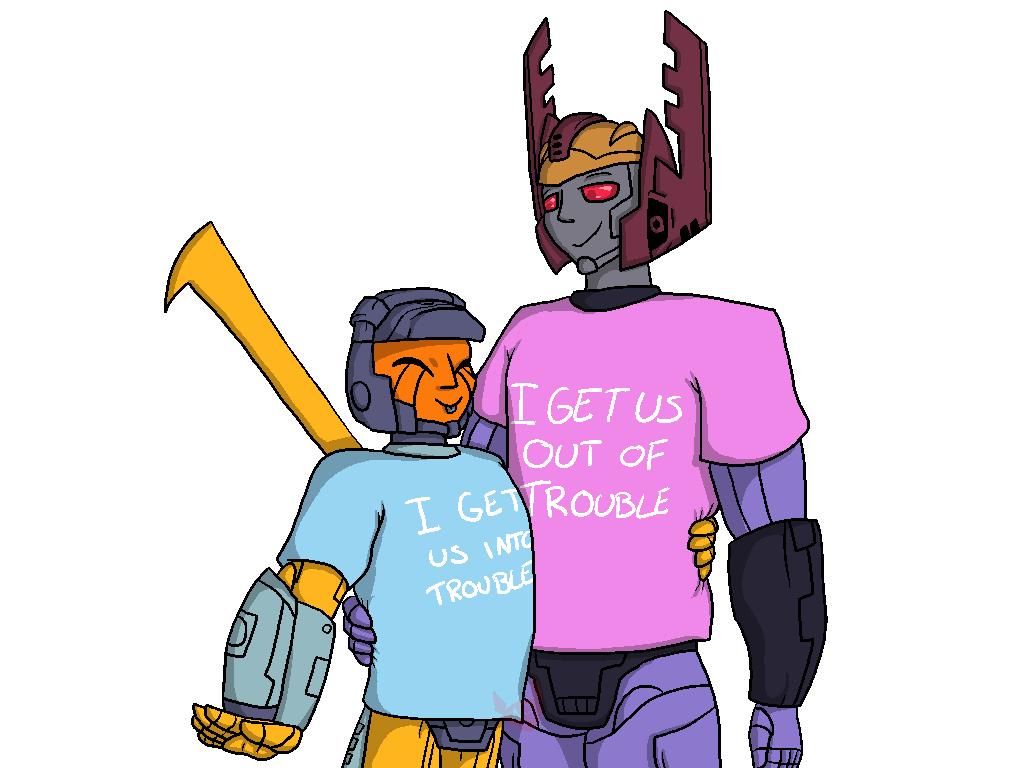 Armada: Matching shirts